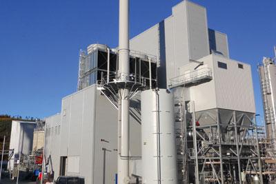 Biomass power station. Credit: Helius Corde Ltd