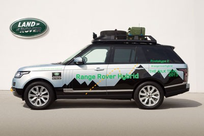 Land Rover Launches Its First Hybrid Range Rover Models. Credit: Jaguar Land Rover