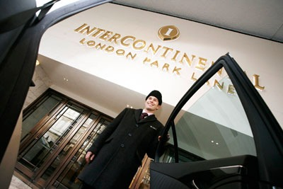Intercontinental hotels doorman. Credit: Intercontinental