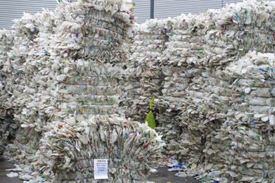 Closed Loop's Dagenham plant reprocesses 8,000t/yr of plastic