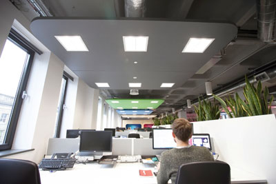 Philip's 'Pay per Lux' scheme provides a lighting service to organisations. Credit: Philips