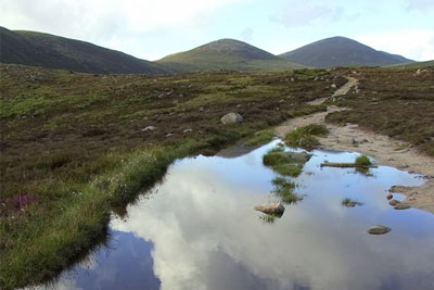 Mourne Mountains, County Down, Northern Ireland (photograph: Ryan Macdonald, CC by SA 2.0)