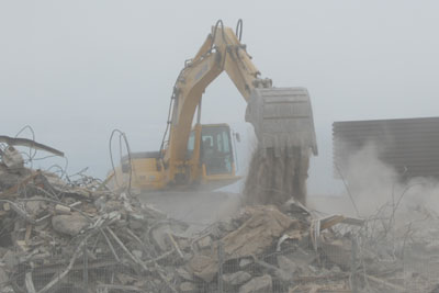 Construction dust can cause air failures: Credit: ADQ Productions