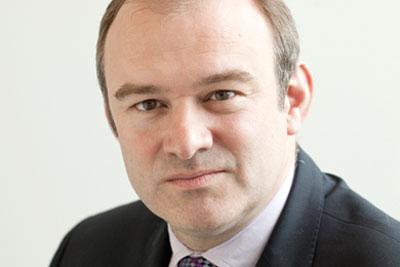 Climate secretary Ed Davey