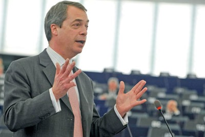 UKIP's Nigel Farage hopes to gain seats in teh May elections. Credit: UKIP