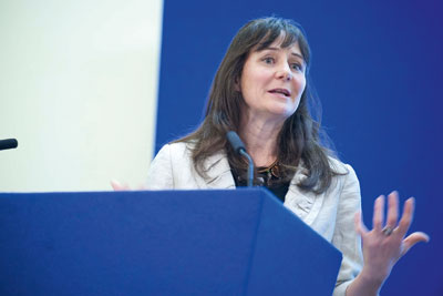 Sonia Roschnik, head of the NHS Sustainable Development Unit. Credit: NHS Sustainable Development Unit