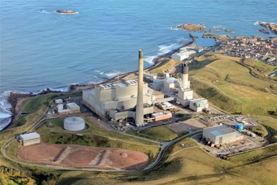 Shell and SSE are trialling CCS on 385 megawatts of capacity at Peterhead power station in Scotland (photograph: Shell)