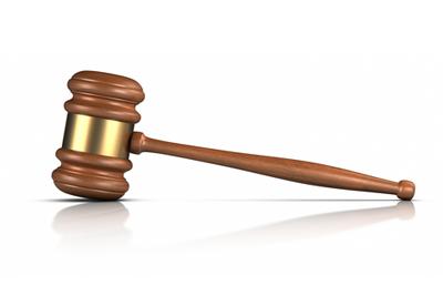 Judge's gavel (photograph: Dreamstime.com)