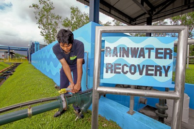 Reusing wastewater in the Philippines: Nestlé is one major company committed to managing water and carbon in tandem (photograph: Nestlé)