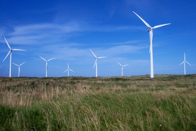 Wind farms, County Wexford, Ireland (photograph: Harry Pears, CC by SA 2.0)