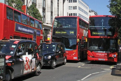 Traffic in London. Credit: AMANDABHSlater/CC BY-SA 2.0
