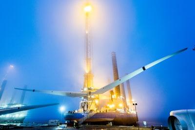 Sieman's rota star being leaded in port. Credit: Siemans