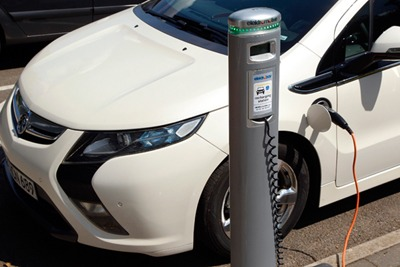Smart grid upgrades could boost growth in electric vehicles (photograph: General Motors)