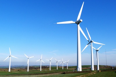 Two-gigawatts of electricity storage could buffer intermittent output from up to 1,000 new wind turbines (photograph: Stephen Jones, CC by SA 2.0)