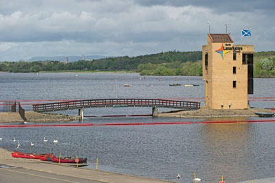 SEPA's new apporach to regulation has been used at Strathclyde Park to help deal with water quality. Credit: Stuart Nicol/Glasgow 2014