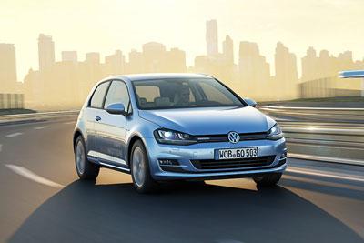 Volkswagen Golf (photograph: Volkswagen)