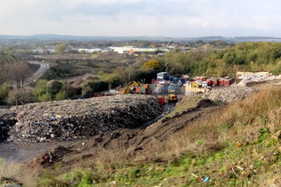 Oakham Environmental Waste & Recycling Centre Ltd had its licence to operate withdrawn after a series of breaches (photograph: Environment Agency)