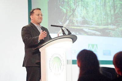 Darrel Webber, RSPO secretary general: The palm oil concession maps mark a 'new era of transparency'
