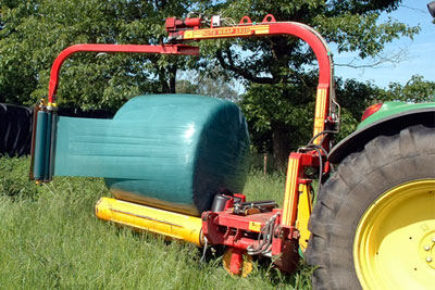 Silage wrap is one of the most common wastes on farms (photograph: Harald Bischoff/CC BY 3.0)