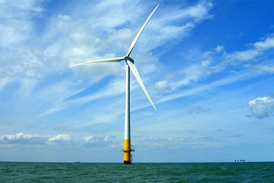 The government wants to increase the UK content of offshore wind farms (photograph: Phault/CC BY 2.0)