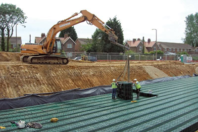 SuDS drainage rules for developers have been delayed again.