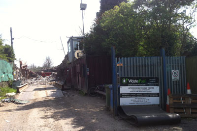 There have been at least a dozen fires at the Waste4Fuel site in Orpington, south London, over the past year