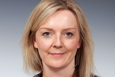 Elizabeth Truss has replaced Owen Paterson as secretary of state for the environment (photograph: DEFRA)