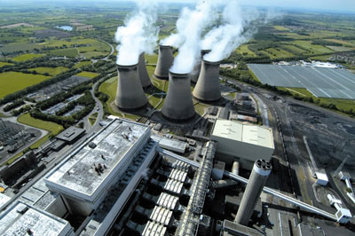 Drax plans to convert two of its units from coal to biomass (photograph: Drax Group)