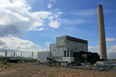 Lynemouth power station has funding for a coal-to-biomass conversion (photograph: Fintan264/CC BY 3.0)