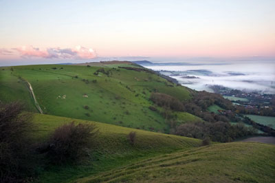 The Weald: potential source of shale oil (photograph: Matthew Gibson/123RF)