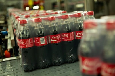 Coca-Cola UK used 178,000 tonnes of packaging last year (photograph: Coca-Cola)