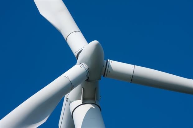 Wind turbine (photograph: T.W. van Urk/123RF)