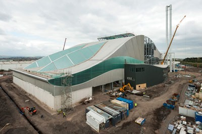 Viridor is currently building its Trident energy-from-waste plant, Cardiff(photograph: Viridor)