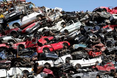 1,226,694 vehicles were scrapped in the UK in 2012 (credit:Nikita-Zabellevich/123RF)