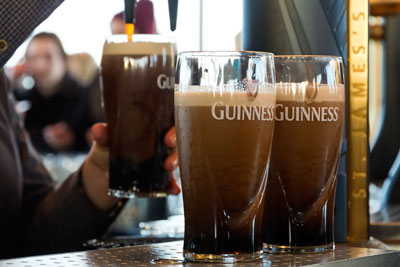 UK drinks giant Diageo produces Guinness (photograph: jvdwolf/123RF)