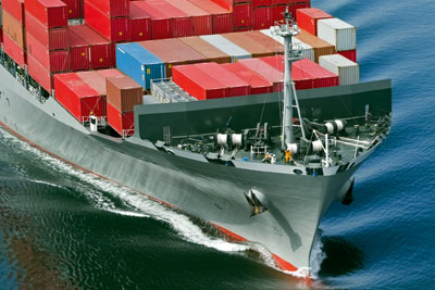 International supply chains increase risk (photograph: Gary Blackeley)