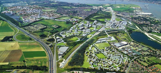 Land Securities: Parts of Ebbsfleet Valley today still resemble a quarry (its former use)