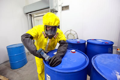 Some firms responsible for managing hazardous waste do not seem to understand their compliance obligations (photograph: Marcin Balcerzak/123RF)