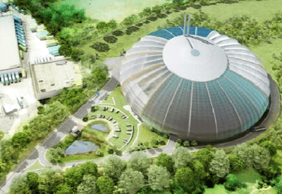 Artist's impression of the New Barnfield energy-from-waste plant (image: Veolia)