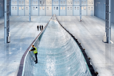 Siemens' 6MW turbine is being deployed with the help of the GIB (photograph: Siemens)