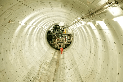 The Thames tideway tunnel was granted planning permission in September. (photograph: Thames Tideway Tunnel Ltd)