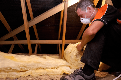 Free home insulation advice is now on offer In Wales (photograph: Resource Efficient Wales)