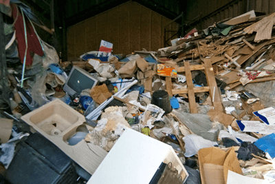 Ahmed was given a suspended prison sentence for dumping waste illegally in March, Cambridgeshire (photo: Environment Agency)