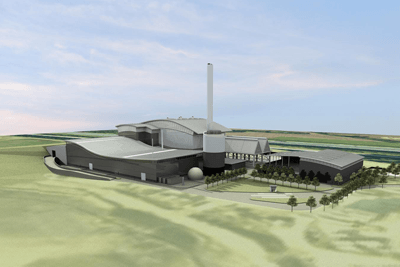 Image of the the proposed 24MW Allerton energy from waste plant (image: AmeyCespa)
