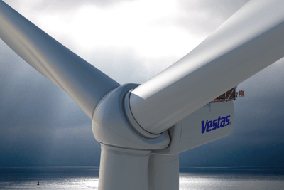Blades for the V164-8.0 turbine will be made in the Isle of Wight next year (photograph: Vestas)