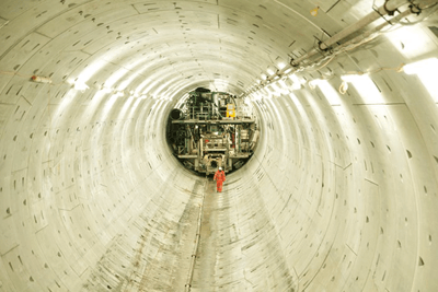 Thames Tideway Tunnel, which is building a sewage tunnel under the Thames, has joined four major engineering firms in signing up to the infrastructure carbon review