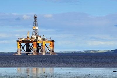 Offshore oil rig North Sea (photograph: _Fla/123RF)