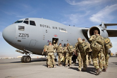 The Ministry of Defence is high on the list of UK emitters (photograph: Ministry of Defence)