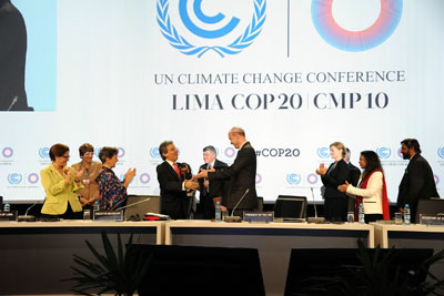 Lima has delivered elements for a global climate deal, but key decisions have been put off (Photo: Flickr UNClimatechange, UNFCCC, licence DSC_5562)