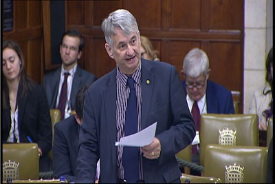 MP for Angus, Mike Weir, moved a Westminster debate on the CfD allocation process (photo: Mike Weir)